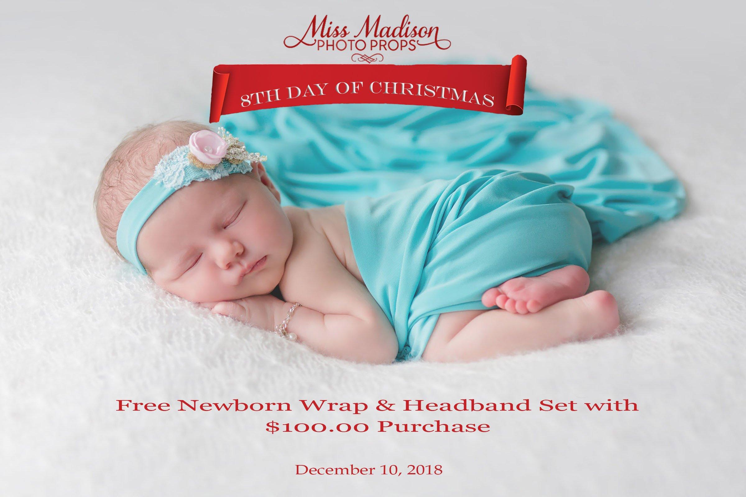 newborn wrap and headband, maternity gown photography, maternity dress photo shoot, newborn photography prop