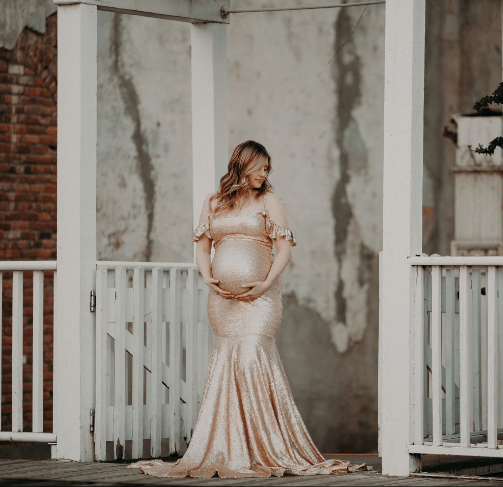 sequin formal gown, sequin mermaid gown, dress, maternity dress, bridesmaid dress, bridal, maternity gown, photo shoot, photography