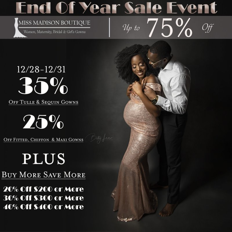 End of Year Sale Event | 2019