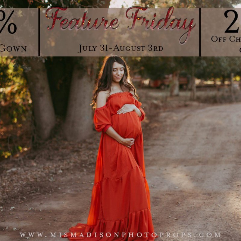 Feature Friday 7/31-8/3