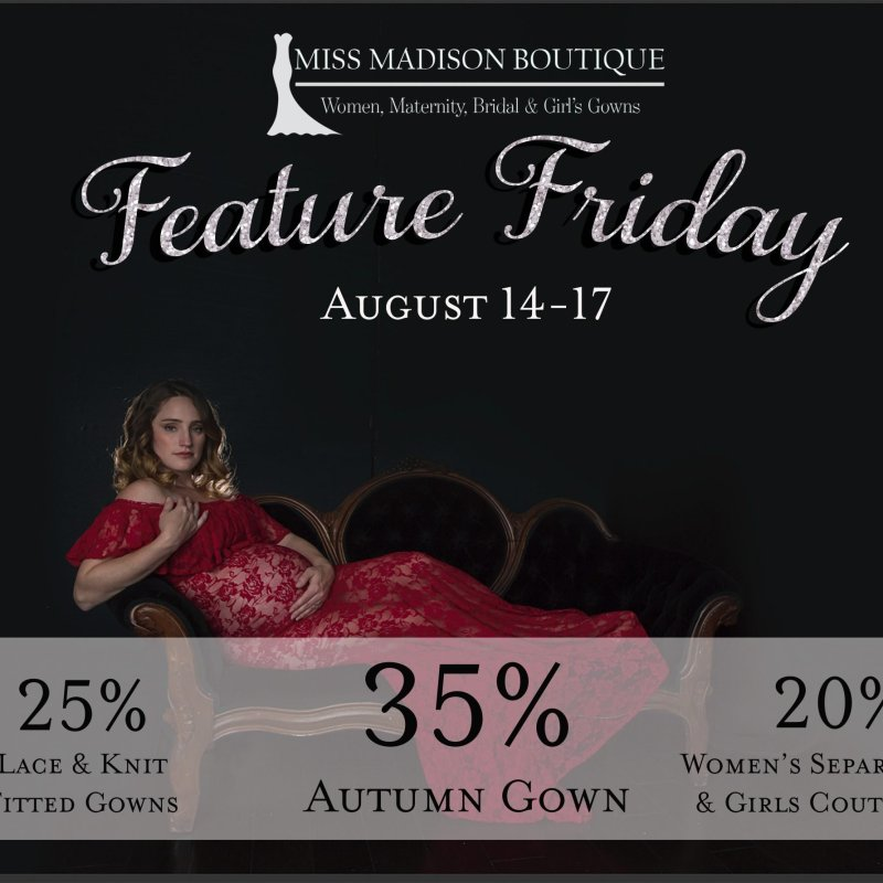 Feature Friday 8/14-8/17