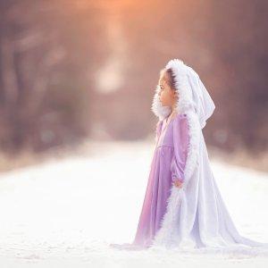 girls fur cape, photography,