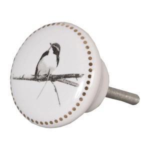 ladeknop vogel