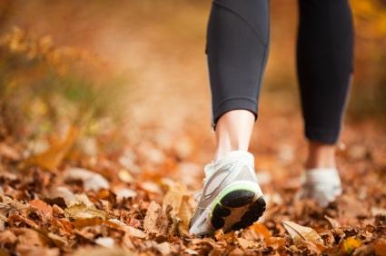 Autumn Running from iStockPhoto.com