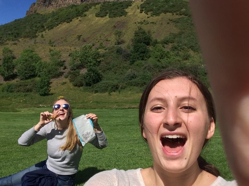 scotland edinburgh hiking millennials