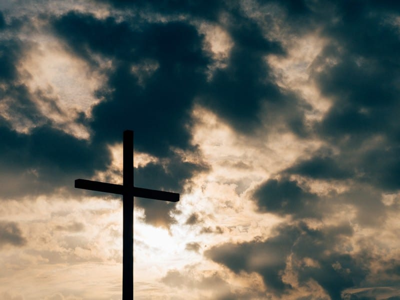 picture of cross for thinking about lenten resolution