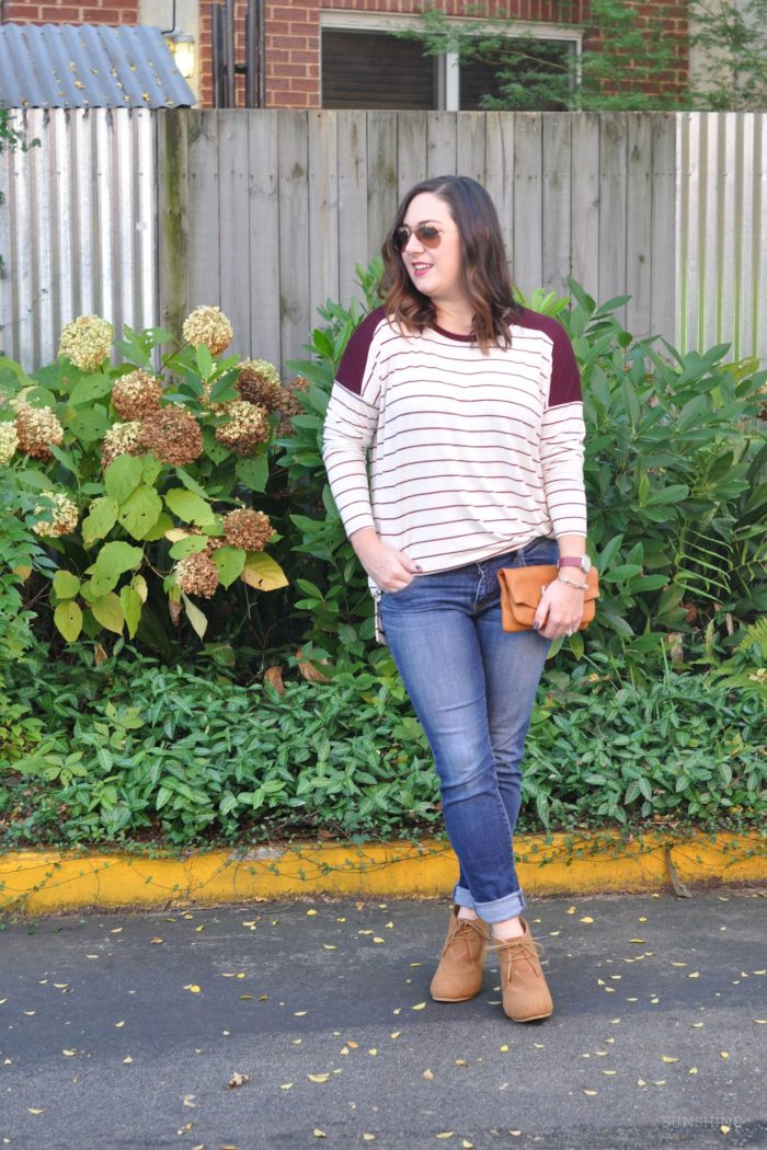 Game Day Style: Vintage Stripes