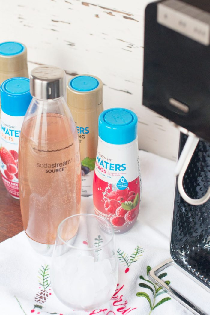 DIY Drink Flags with SodaStream Power