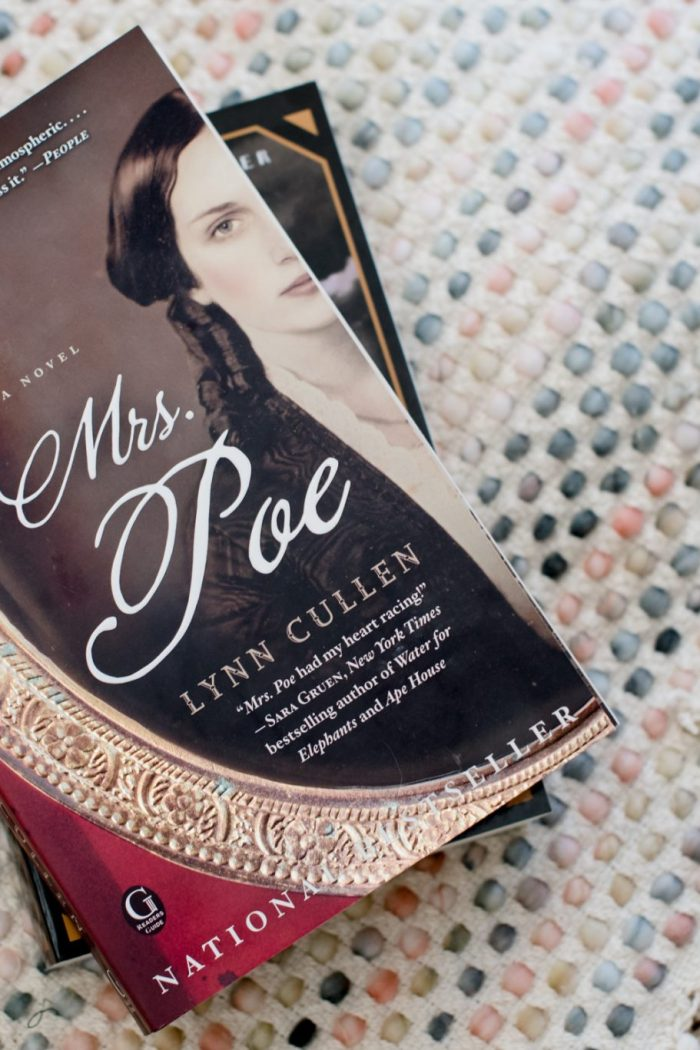 Back on the Shelf: Mrs. Poe + March Reading Update