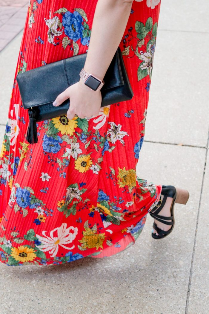 TBSCon Day 1 + a Bright Floral Maxi