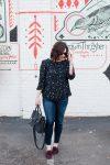 Star Print Blouse // Miss Molly Moon