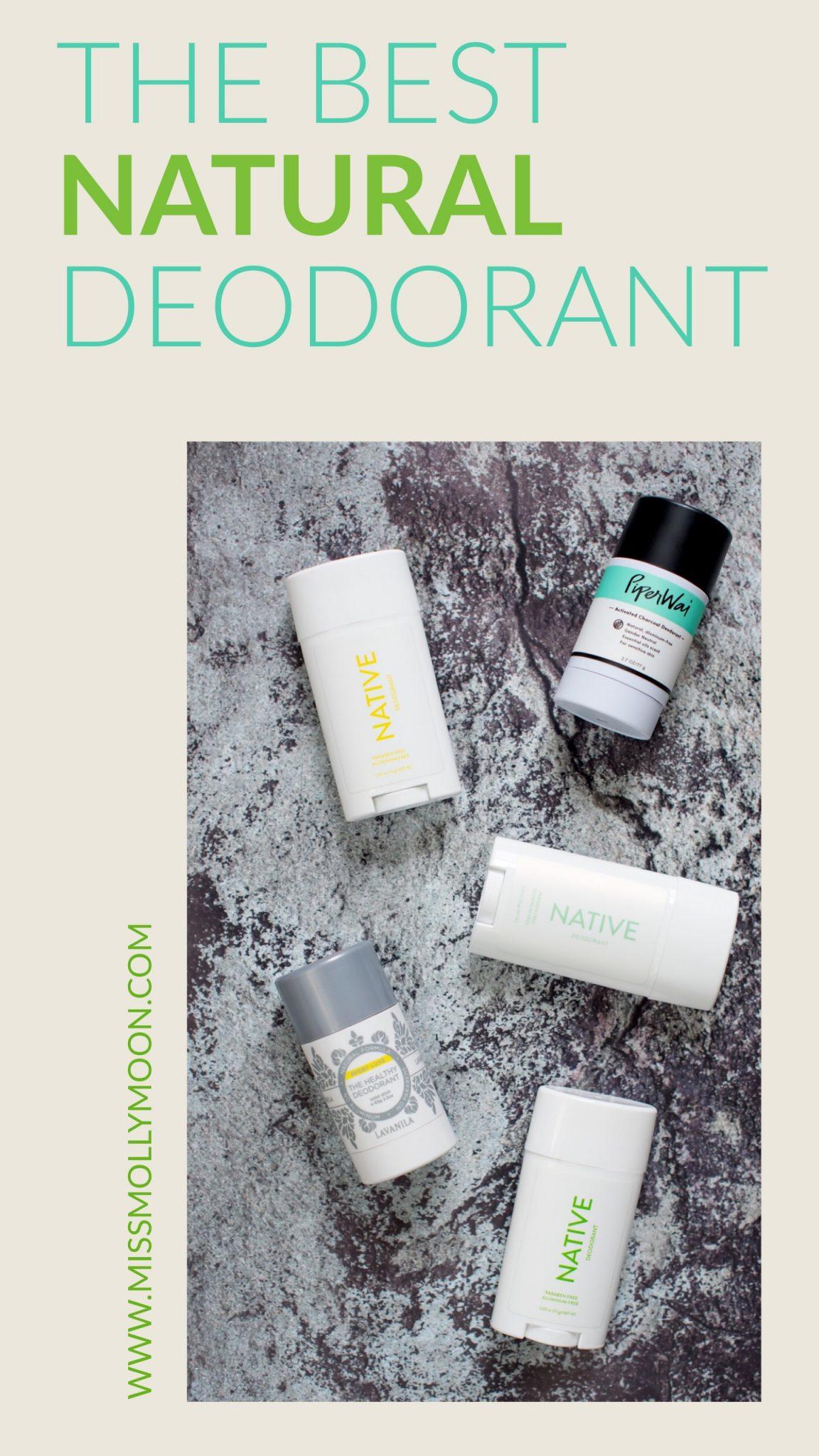 My Three Favorite Natural Deodorants // Miss Molly Moon