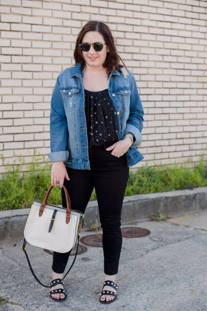 Denim, Stars, and Thoughts on Blogging