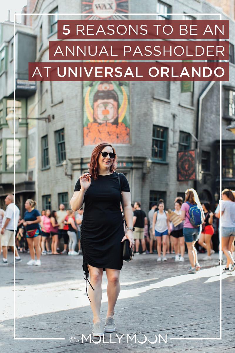 5 Reasons to Be an Annual Passholder at Universal Orlando // Miss Molly Moon