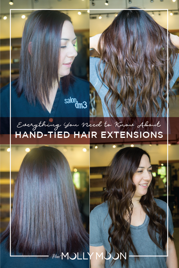 My Experience with Hand-Tied Hair Extensions in Athens, GA // Miss Molly Moon