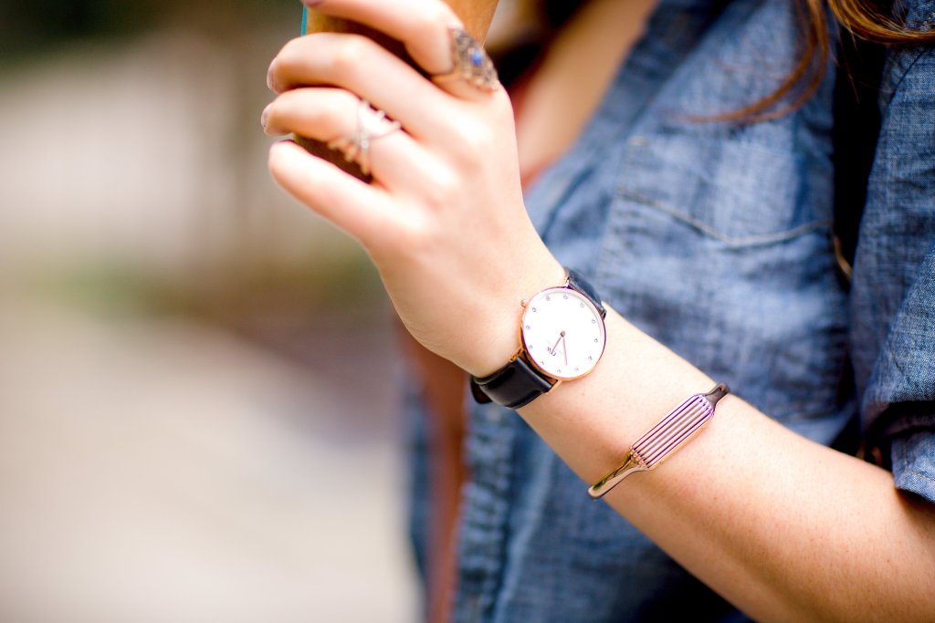 Daniel Wellington watch and accessories