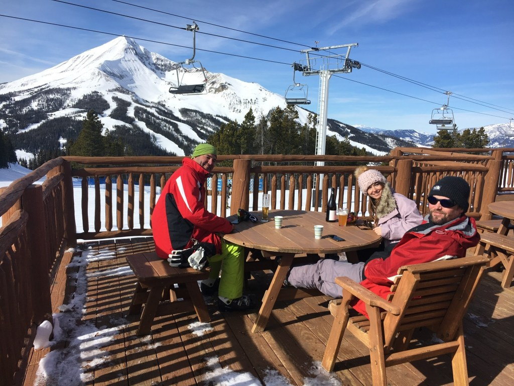Skiing Big Sky Montana