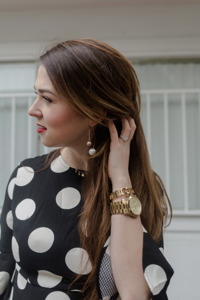polka dot look