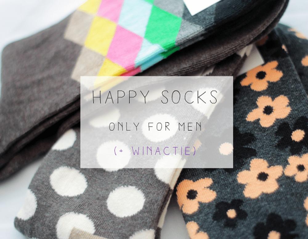 FASHION | Happy Socks for men (+ winactie)