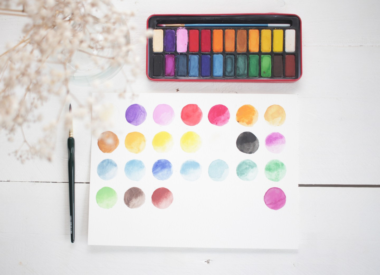 Review Aquarelverf van Ali Express