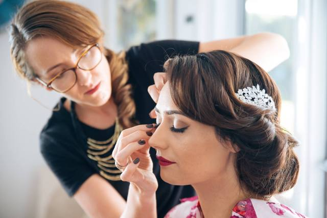 mobile makeup and hair service sunshine coast