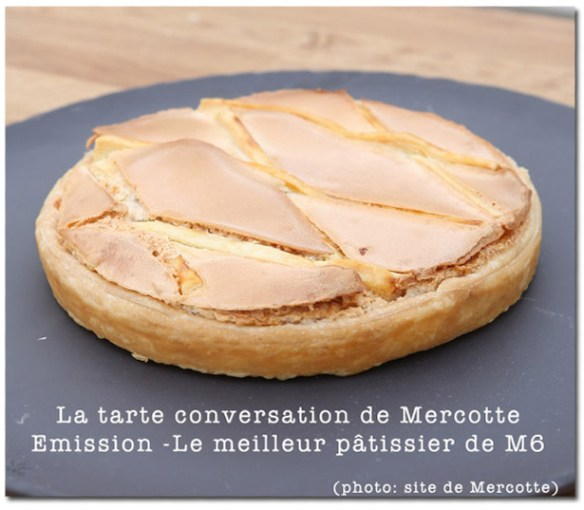 Tarte conversation de Mercotte