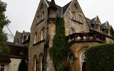 Staying in a Castle in the Scottish Highlands