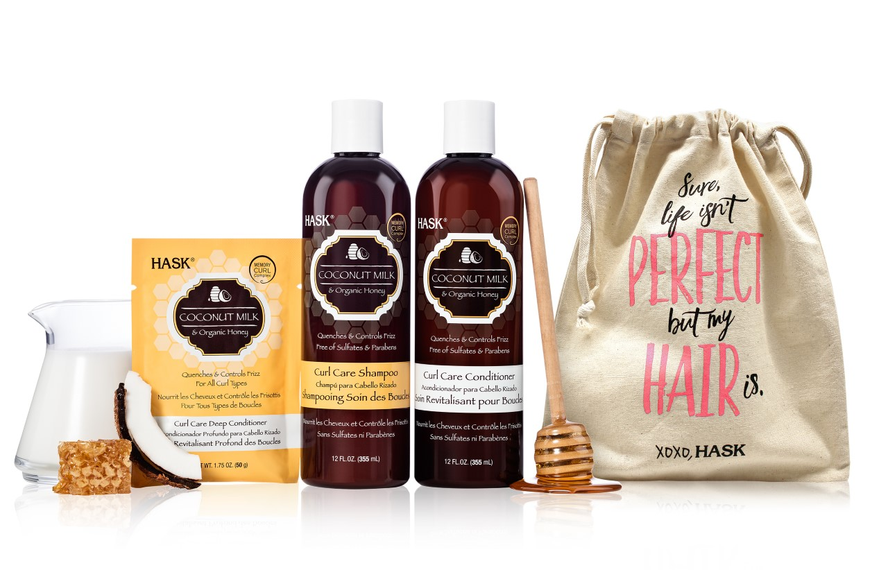 Hask Coconut Milk Curl Care