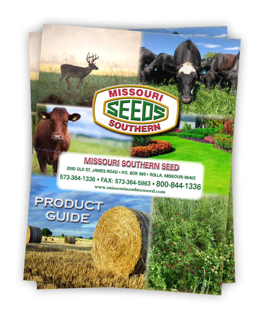 Missouri Southern Seed Product Guide Catalog