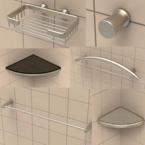 tileware shower hardware accessories