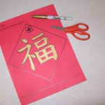 Lucky Word Sign Craft For The Chinese Lunar New Year Culture Craft