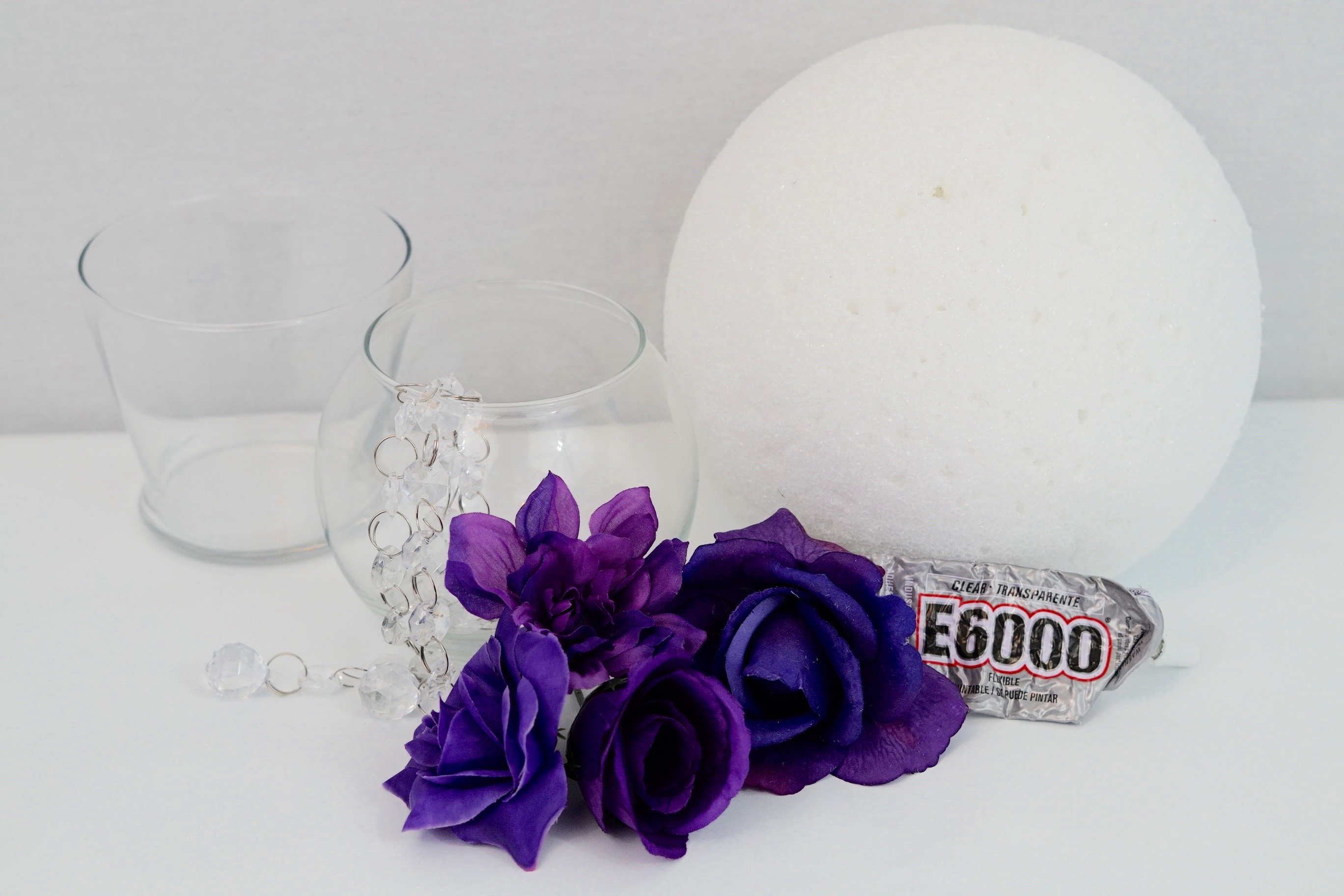 Diy purple passion wedding centerpiece in 3 easy steps how to make diy purple wedding centerpieces junglespirit Image collections