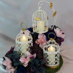 Diy Vintage Lantern Birdcage Wedding Centerpiece