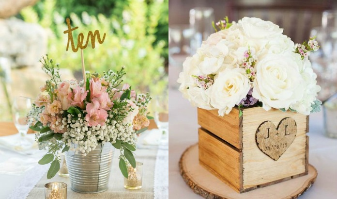 10 Rustic Wedding Centerpieces Ideas You Will Adore