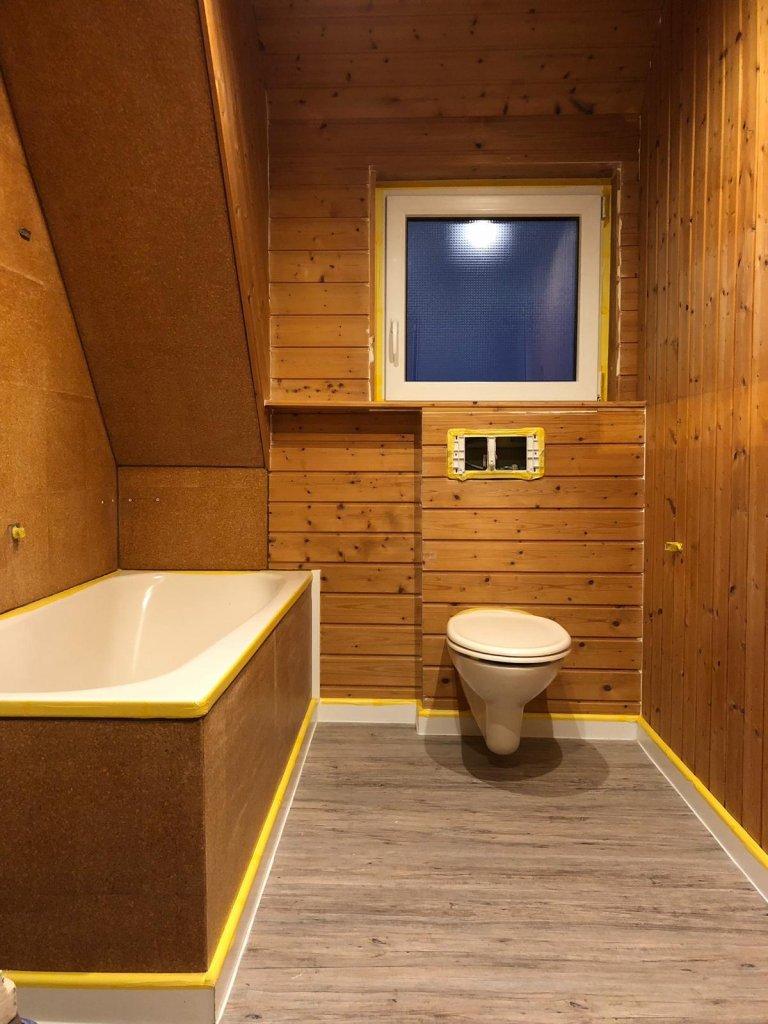 Decke Holzpaneele Streichen Zuhause
