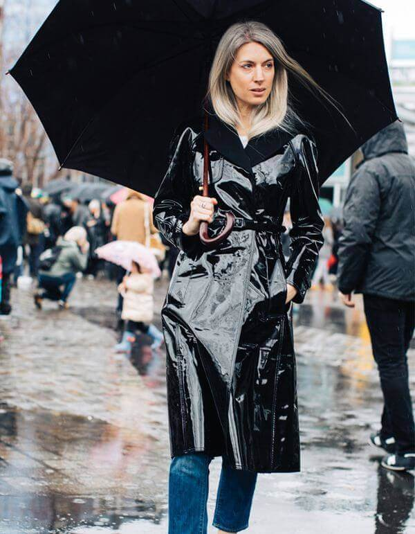 cute rainy day outfits 1 - Stay Waterproof: 10 Rainy Outfit Ideas To Start With