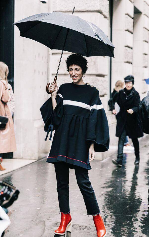 rainy day outfits 204716 1495198915857 image.600x0c 1 - Stay Waterproof: 10 Rainy Outfit Ideas To Start With