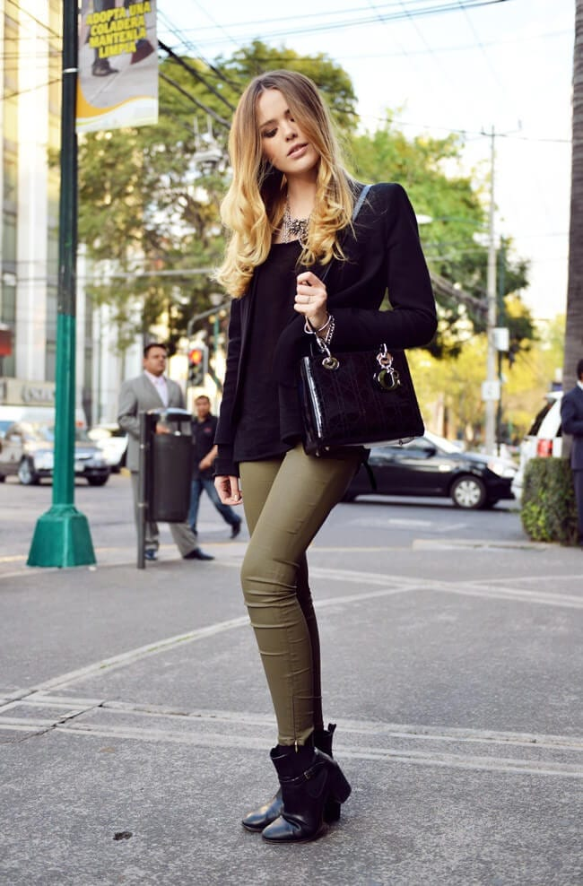 1. www.kayture.com  - 6 Shades of Green: How to Wear Green Pants to Create Stylish Outfits