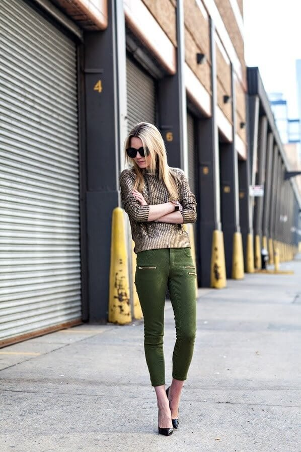 1. www.the atlantic pacific.com  - 6 Shades of Green: How to Wear Green Pants to Create Stylish Outfits