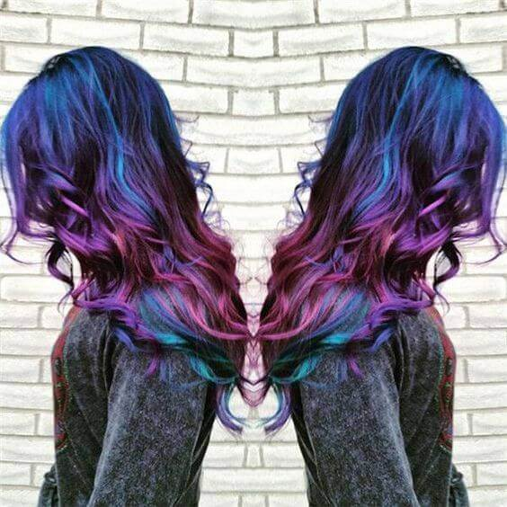 galaxy hair style pros cons - Galaxy Hair: How to Do It At Home and Amazing Hairstyles You Need to Try