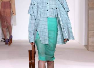 Sheer Pencil Skirts
