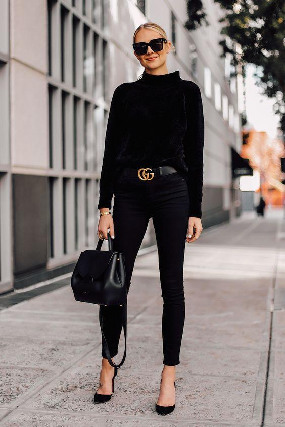 How To Wear All-Black: 30 Looks Will