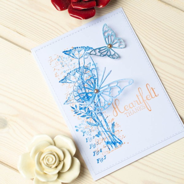 "MissQ kort ""Heartfelt thanks"""