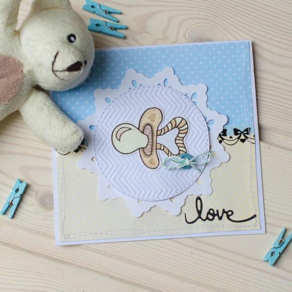 """MissQ kort til baby """"Love"""""""
