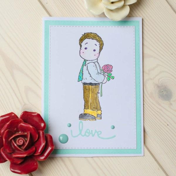 "MissQ ""Love"" kort"