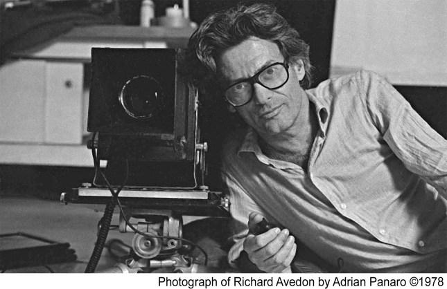 Richard Avedon © Adrian Panaro