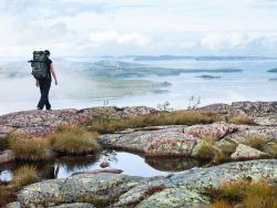 De Skuleskogen kust in Zweden