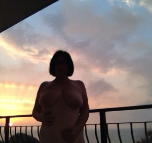A nude picture at sunrise