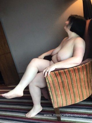 Naked Woman in a chair