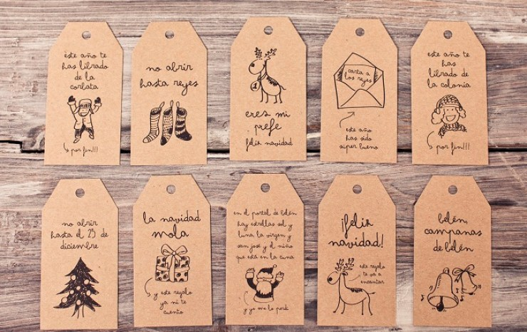 Etiquetas originales creativas mr wonderful